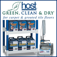 Host | Green, clean, and dry for carpet & grouted tile floors