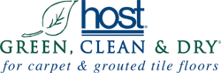Host   Green, clean, and dry for carpet & grouted tile floors