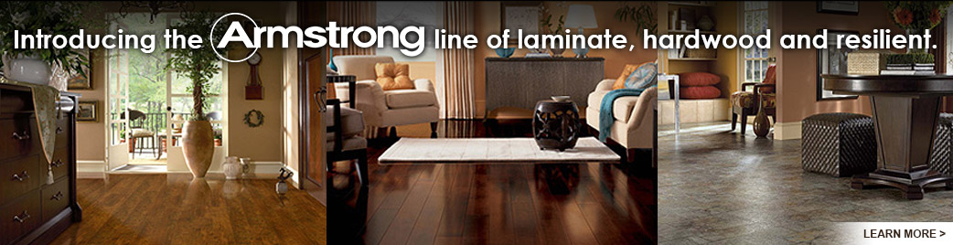 Abbey Carpet of Watertown carries the highest quality Armstrong laminate, hardwood, and resilient vinyl.